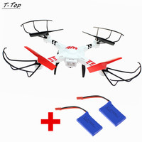Wltoys V686 Fpv RC Drones Camera Flying Quadcopters Helicopter With 2pcs Extra Battery Free Shipping
