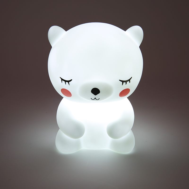 Good New Kids Gift Cute Panda Led Night Light Mini Lamps Baby Feeding Night Lamp Children Bedroom Living Room Home Decoration novelty smile face rainbow led night lights battery night lamps baby room nursery living room decor kids christmas gifts lamps