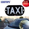 1pcs/lot Taxi Led Car Windscreen Cab indicator Lamp Sign Blue LED Windshield Taxi Light Lamp 12V BA