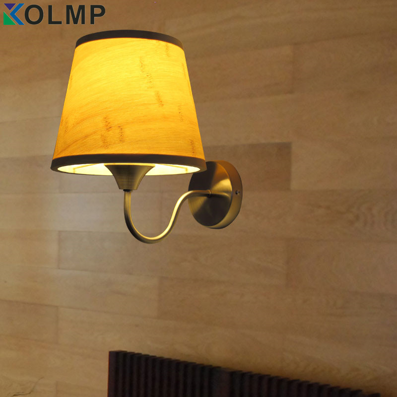 ФОТО rustic wall sconces bamboo brief indoor stair lighting bedside wall lamp iluminacion interior for home modern decoration
