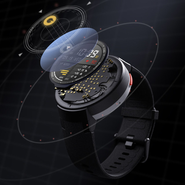 English Version Xiaomi Huami Amazfit Verge Smart Sport Watch 1.3 Inch AMOLED Screen GPS HR Sensor Answer Calls IP68 Waterproof