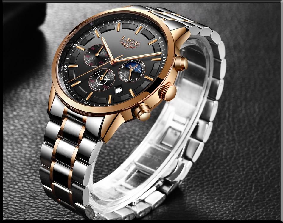 HTB1PEbZu4SYBuNjSsphq6zGvVXaZ Relojes Watch Men LIGE Fashion Sport Quartz Clock Mens Watches Top Brand Luxury Business Waterproof Watch Relogio Masculino
