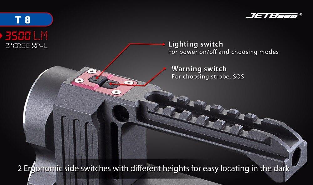 High Quality led flashlight cree