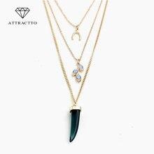 Привлекательные ювелирные изделия в стиле бохо женское ожерелье