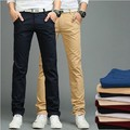 New Arrival Men Pants Men's Slim Fit Casual Pants Fashion Straight Dress Pants Skinny Smooth Full Length Trousers