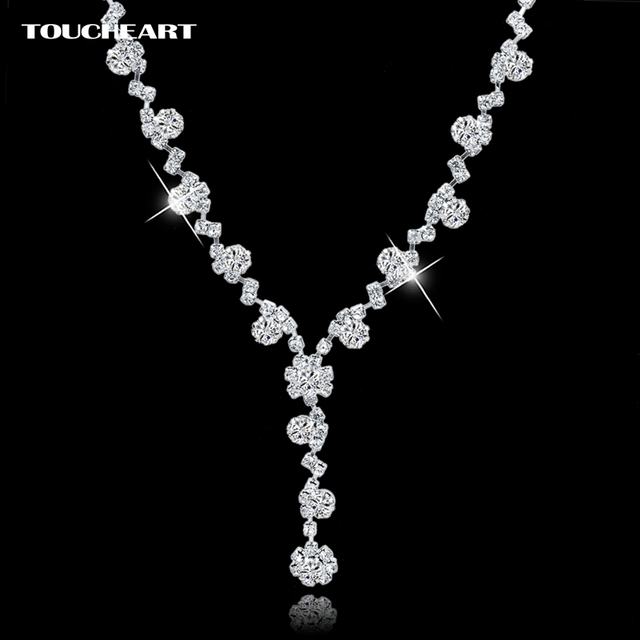 TOUCHEART Charm Silver Color Jewelry Beads Long Maxi Necklaces & Pendants For Women Vintage Ethnic Wedding Statement Necklaces