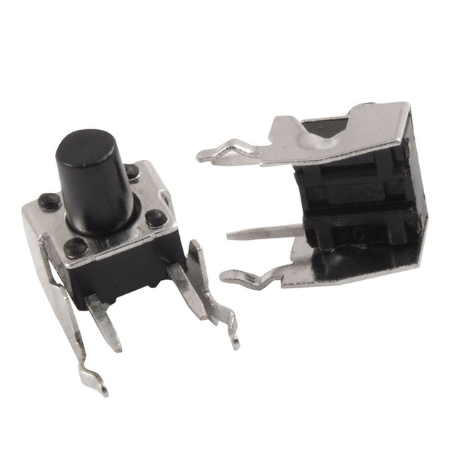 JFBL Heißer 20 Pcs Momentary Rechtwinklig Tactile Takt Push Button Switch 6x6mm x 8mm