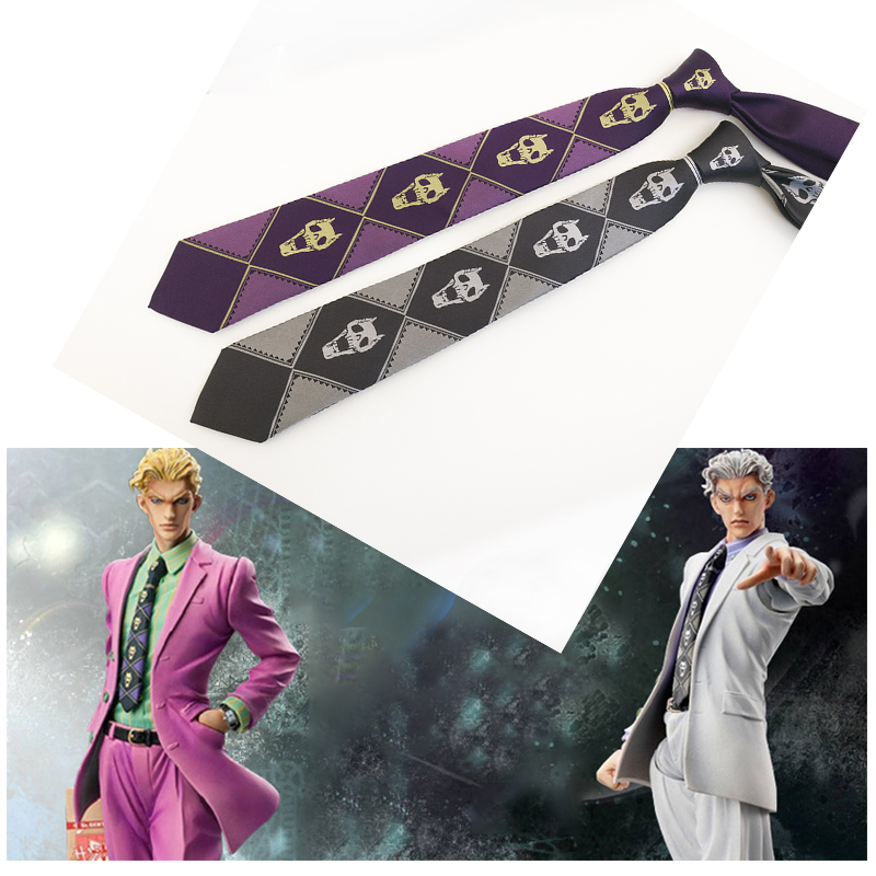 New JOJO JoJo/'s Bizarre Adventure KILLER QUEEN Heavens door Kira Yoshikage Tie