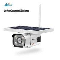 2 МП 1080 P ip камера на солнечной батарейке наружный водонепроницаемый беспроводной 4G камера безопасности на солнечных батареях ИК детектор д