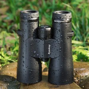 Image 3 - Eyeskey edレンズ 12 × 50 IPX8 防水超マルチコーティング双眼鏡Bak4 プリズム光学hd望遠鏡キャンプ狩猟屋外