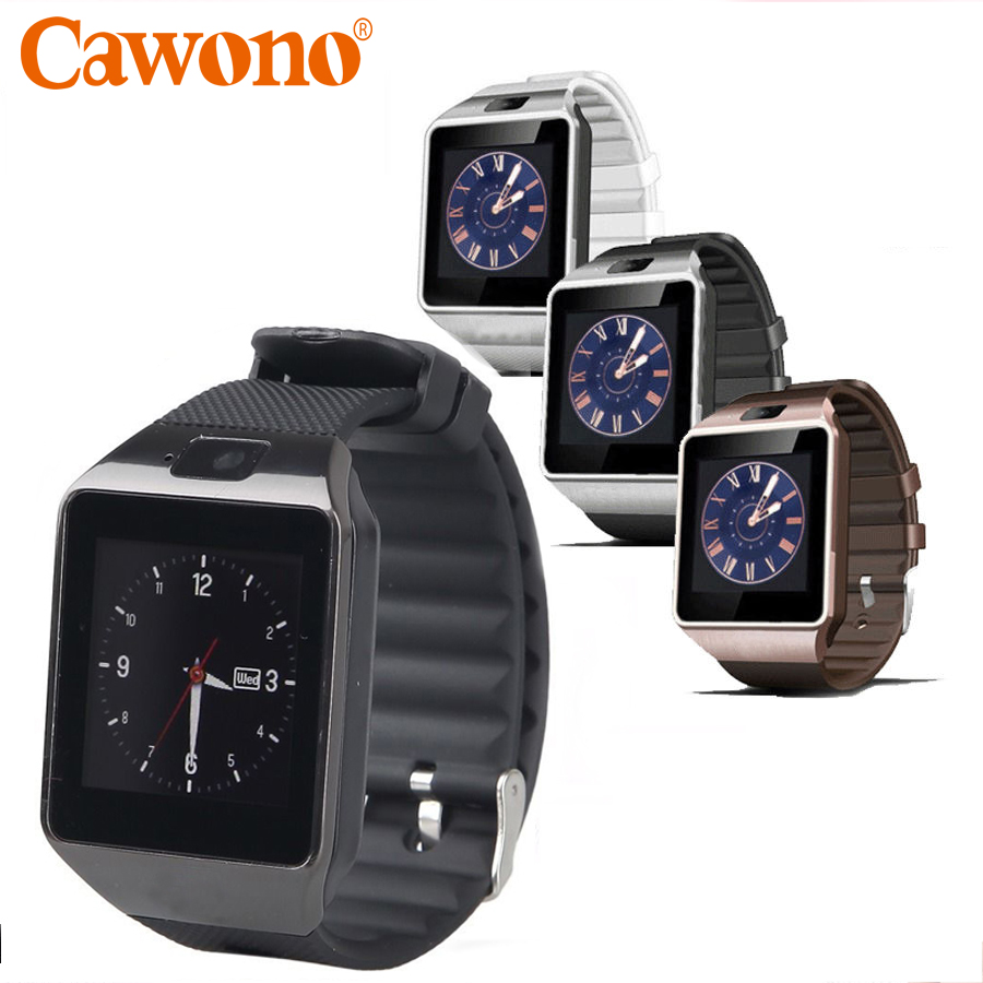 Cawono DZ09 Bluetooth Smart Watch Smartwatch Relogios Watch TF SIM Card Camera for iPhone Samsung Huawei Android Phone PK Y1 Q18 zaoyiexport bluetooth 4 0 smart watch u10 support camera anti lost smartwatch for iphone xiaomi sumsung android pk u8 gt08 dz09