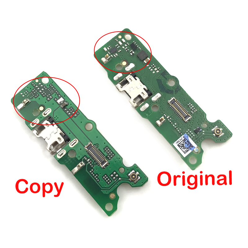 USB Charger Port Mic Microphone Board For Huawei Y5 2018 Dock Connector Charging Port Flex Cable Repair Parts