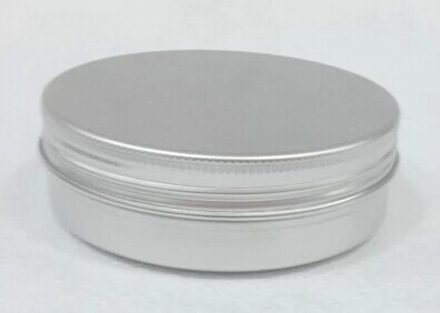 Free shipping 30pcs lot 120ml aluminum Jars 120g cream cosmetics container 120ml g candle candy jars