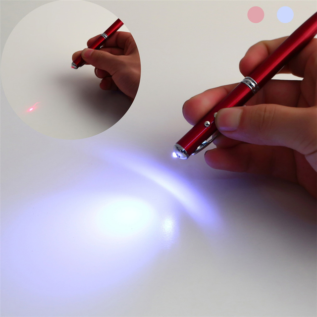4 in 1 Laser Pointer Touch Screen Stylus Pen for iPhone Ipad Samsung