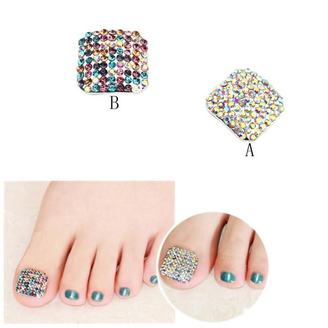 5pcs Toe Nail Polish Sticker Wraps Art Decoration Patch Acrylic Gel Tips Design