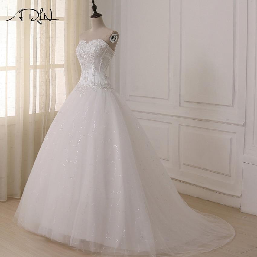 ADLN Bröllopsklänningar Vestidos de Novia Off Shoulder Sweetheart - Bröllopsklänningar - Foto 3