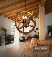 American rope vintage industrial Hang lamp pendant lights led lights for home nordic pendant light fixtures loft style hanging