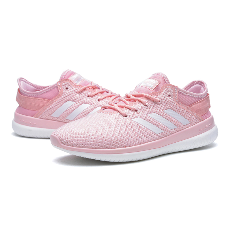 new styles ad8eb b563b Adidas Neo Women s Running Shoes, Pink   White, Breathable Lightweight Wear  resistant Shock absorbing CG5760-in Running Shoes from Sports    Entertainment on ...