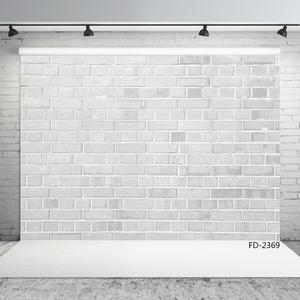 Image 2 - Off White Brick Wall Vinyl Photo Backgrounds Photographic Backdrops For Backgrounds for Children Baby Photo Digital Photo Studio