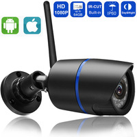 1080P 960P 720P Wifi IP Camera Wireless P2P Surveillance CCTV Bullet Outdoor Camera With SD Card