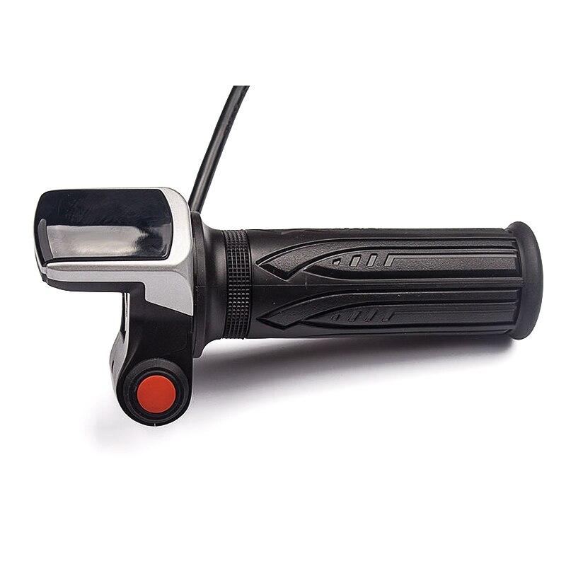 E Vélo Twist Throttle Contrôle De Vitesse Scooter Électrique LCD Affichage De La Batterie Avec ON OFF Interrupteur Tension de La Batterie Indicateur de Gaz Pédales