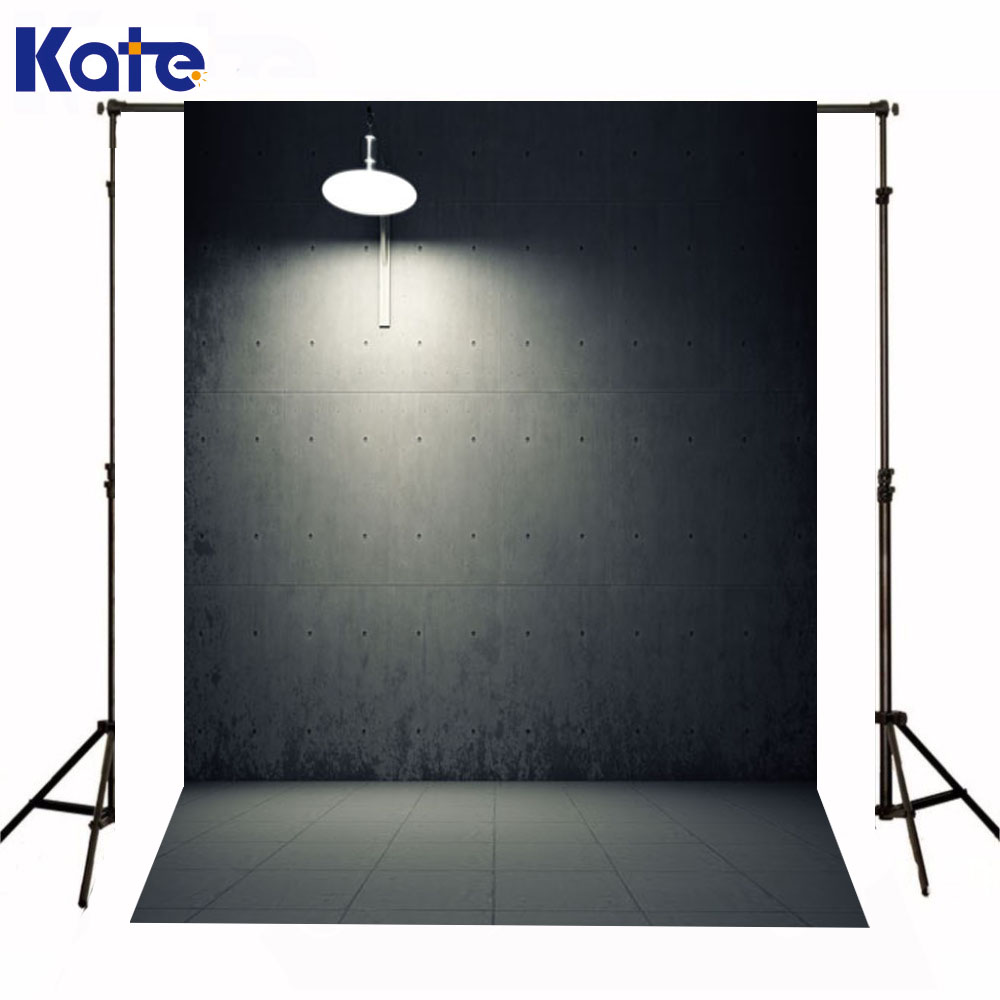 Kate Newborn Baby Backdrops Photography Lighting Fall Iron Wall Fotografia <font><b>Gray</b></font> Tiles <font><b>Floor</b></font> Backgrounds For Photo Studio