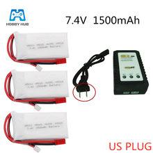 Voor H501 7.4 V 1500 Mah 2S Lipo Bettarys H502S H109S H901A Zender Rc Batterij Li-Ion Batterij Afstandsbediening batterij