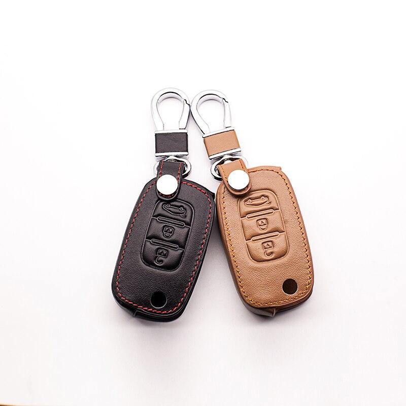 Car Remote Key Chain Car Key Case Cover for LADA Sedan / Largus / Kalina / Granta / Vesta 3 buttons case starline a91 key cover