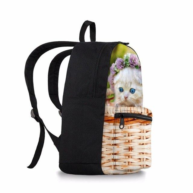 Kawaii School Backpack Women Children Schoolbag Back Pack Leisure Canvas Ladies Knapsack Laptop Travel Bags for Teenage Girls