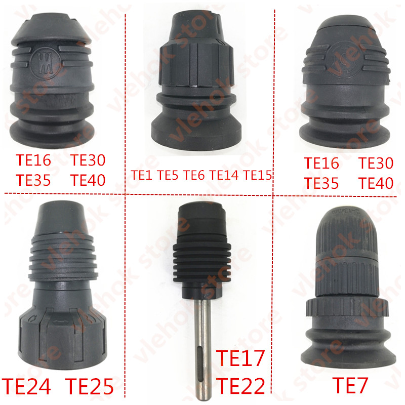 Hilti TE1 TE5 TE6 TE7 TE14 TE15 TE16 TE17 TE22 TE24 TE25 TE30 TE35 TE40 SDS Type DRILL CHUCK Replace For Power Tool Accessories