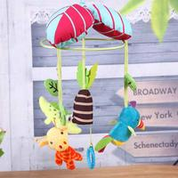 Baby Cartoon Crib Mobile Toys Rattles Musical Bed Bell Car Stroller Accessories Cute Colorful Infant Bed
