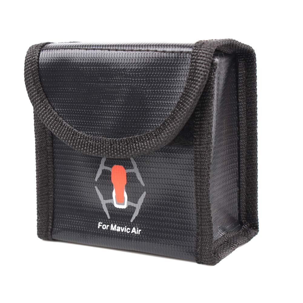 Safe Bag Explosion-proof Guard Accommodate 2 Battery Durable High Temperature Resistance For AIR YH-17