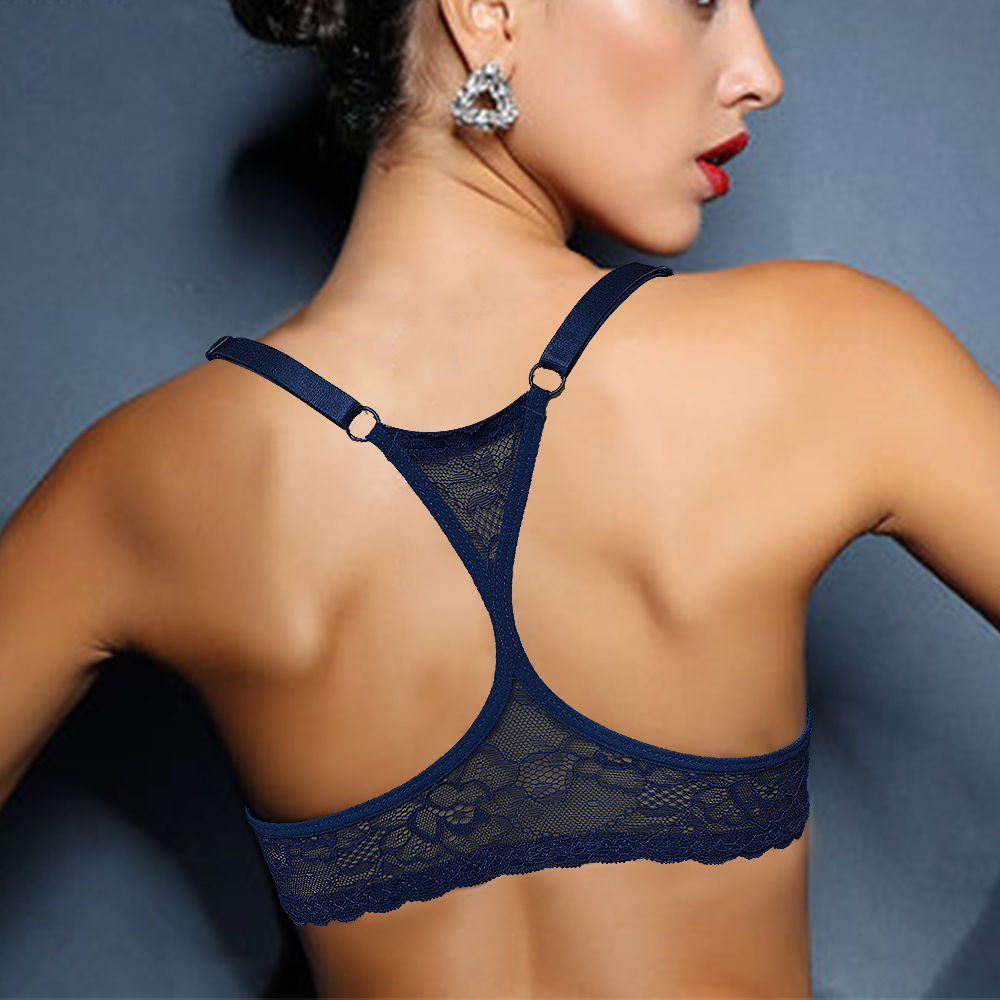 Hot Top Bra Bralette Lace-line Y BH Underwire Underwear Lingerie Sexy Mulheres Presente Da Menina Plus Size 70 75 80 85 90 95 100 A B C D DD