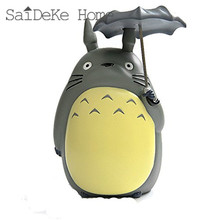 Hayao miyazaki totoro resin oversized classic umbrellas piggy bank money box furnishing articles