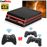 2019 New Coolbaby HDMI/AV Video Game Console 64 Bit Support 4K Output With 600 Classic Family TV Video Games Retro Game Console