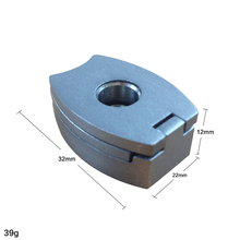 New 1pc 3 in 1 Cigar Punch 3 Size Stainless Steel Dart For Cigars Cigar Cutter Foldable Portable Cigar Accessories Travel c3141