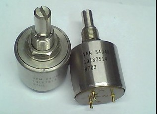 Japan VRN 84048 potentiometer 5 turns 500 500R 20MM round axis switch bt151 500r to 220