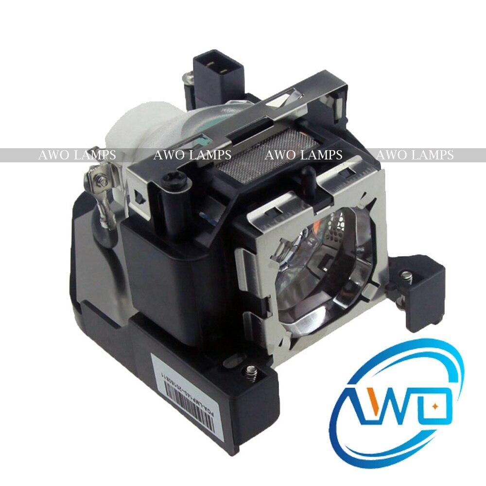 AWO Compatible Projector Lamp POA-LMP140 610-350-2892 Module for SANYO Projectors PLC-WL2500 PLC-WL2501 PLC-WL2503 PRM30 compatible projector lamp for sanyo poa lmp57 610 308 3117 plc sw30 plc sw35