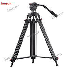 JY0508 JY-0508 JIEYANG camera Tripod Professional for video stand / DSLR video tripods / Fluid Head Damping / Max load 8KG CD50