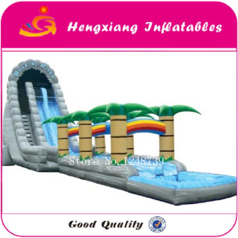 Inflatable Water Slide With Price: Factory Price Inflatable Water Slide Giant Slider, Big