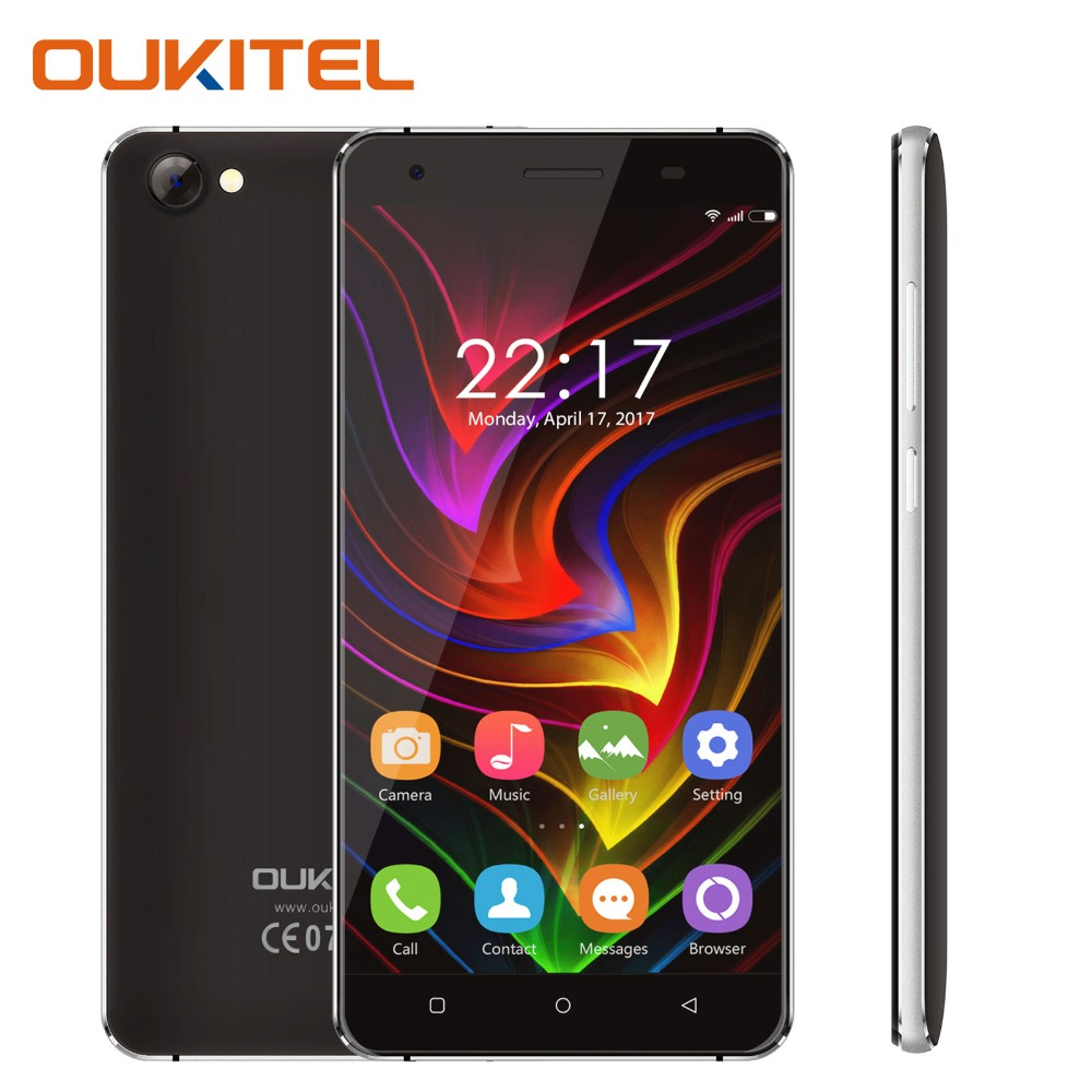 Oukitel C5 Cell Phone 5 0 Inches 2GB RAM 16GB ROM Quad Core Android 7 0
