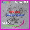 S02 2.0 X 1.4 X 4.0 mm 500 pcs óculos Eyegalsses óculos de reparação de parafusos de cabeça - ou grátis