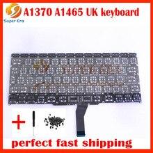 UK EU Keyboard For Macbook Air 11″ A1465 A1370 UK big enter English Keyboard without backlight MC505 MC506 MC968 2011-2015 year