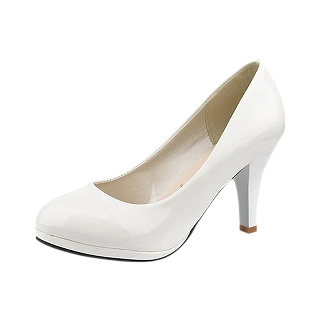 pare Prices on Wedding Shoes Low Heel White line Shopping