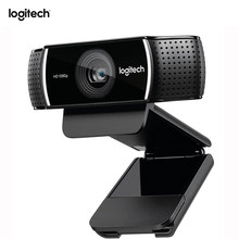 Original Logitech C922 cámara Web Pro Stream Webcam con micrófono Full HD 1080 P Video Auto enfoque Web cam 14MP-C920 actualización(China)