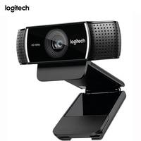 Original Logitech C922 Web Camera Pro Stream Webcam With Microphone Full HD 1080P Video Auto Focus Web cam 14MP C920 Upgrade