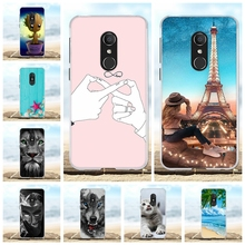 For Alcatel 1C Cover Ultra Thin Soft TPU Silicone 5009A 5009D Case Animal Patterned Bumper Capa