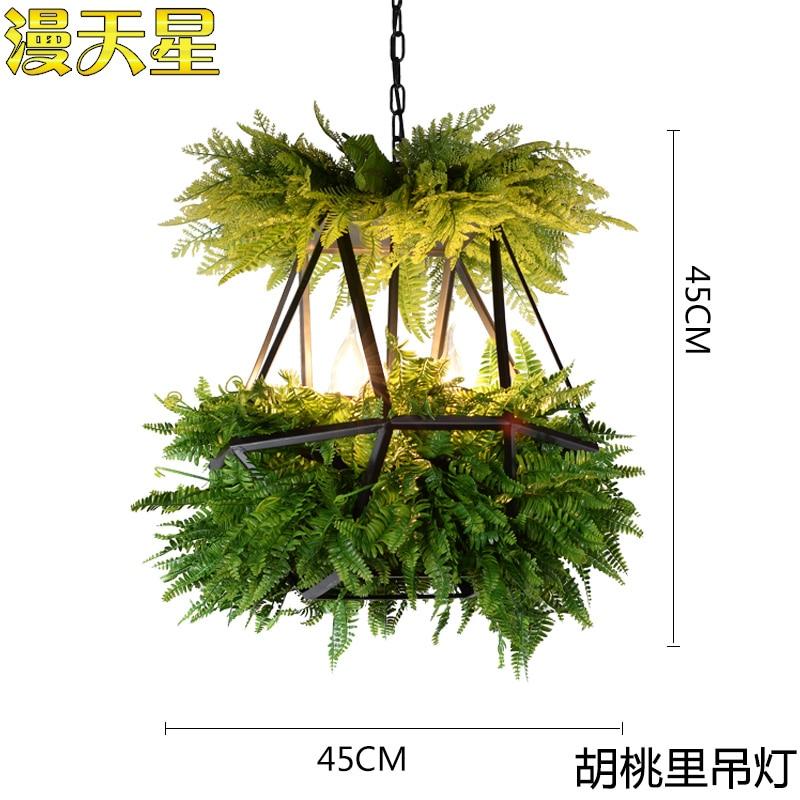 Image 5 - LED Hanging Gardens of Babylon Plants Lamp Pots Potted Nordic Tom Creative Chandelier Lighting Bulb Art Pendant Lamp With Bulb-in Pendant Lights from Lights & Lighting