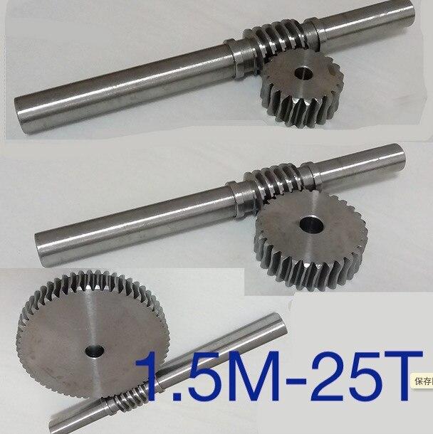 1.5 м-25 т Шестерни d: 42 мм 45 стали точность червячной передачи-Шестерни стержень l: 230 мм d: 18 мм