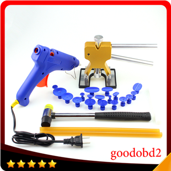 PDR Tools Paintless Dent Repair Tools Dent Removal Dent Puller Tabs Dent Lifter Hand Tool Set PDR Tool Kit with 100W Glue Gun цена 2017